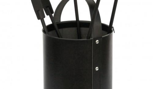 Odinis 4-ių įrankių komplektas(juodas)H-62cm