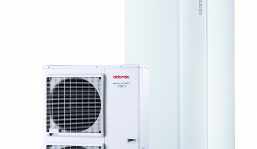 Šilumos siurblys oras/vanduo Atlantic Alfea Excellia Hybrid Duo Gas TRI 11 (522184)