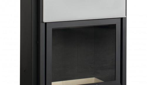 Plieninis židinio ugniakuras Arcadia Vita frontale 60, SL pakeliamu stiklu 512 mm